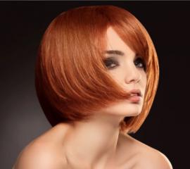 Окрашивание в 1 тон коротких волос/корней
