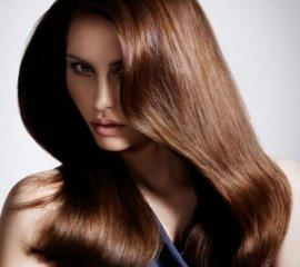 Окрашивание в 1 тон длинных волос