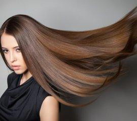 Окрашивание в 1 тон экстра-длинных волос