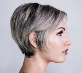 Мелирование (короткие волосы)