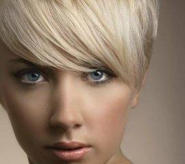 Блондирование коротких волос/корней