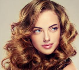 Тонирование (волосы средней длины)