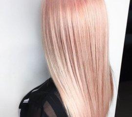 Тонирование (длинные волосы)