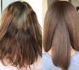 Декапирование (короткие волосы)