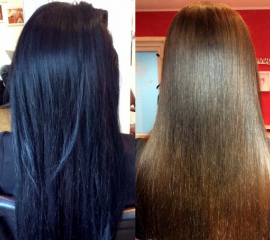 Декапирование (экстра-длинные волосы)